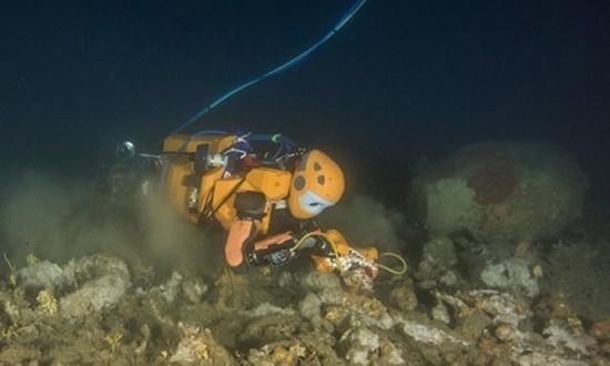 Robot tiên cá tìm kho báu trong xác tàu đắm của vua Louis XIV - ảnh 1