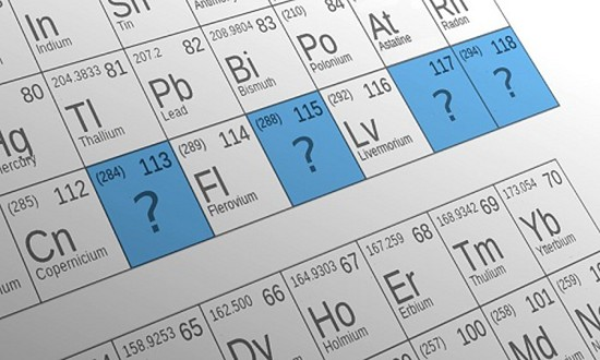 4 nguyên tố hóa học siêu nặng mới sắp có tên gọi - ảnh 1