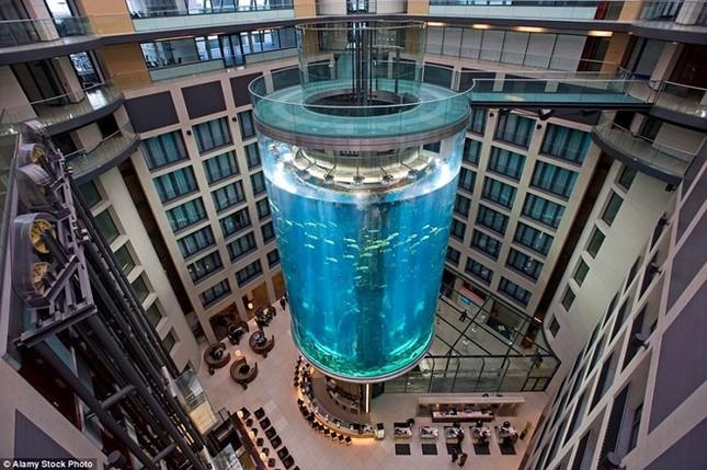 Những công trình thang máy ngoạn mục nhất thế giới - ảnh 11