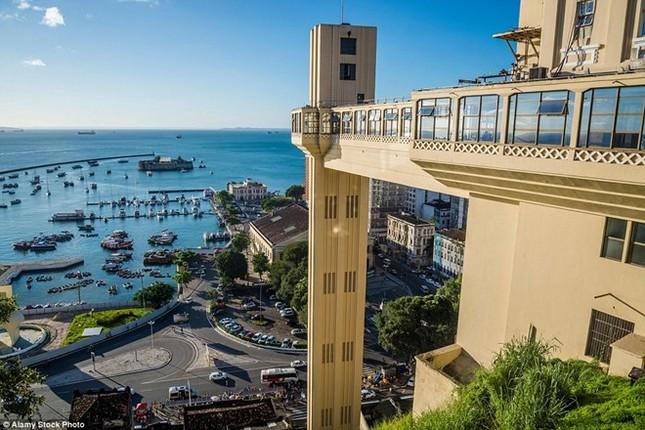 Những công trình thang máy ngoạn mục nhất thế giới - ảnh 14