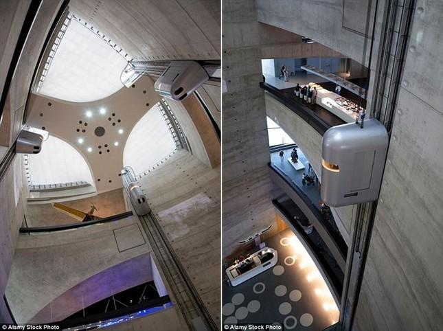 Những công trình thang máy ngoạn mục nhất thế giới - ảnh 8