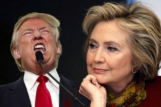 Trump tấn công phe Cộng hòa, Hillary tăng tốc cách biệt - ảnh 1