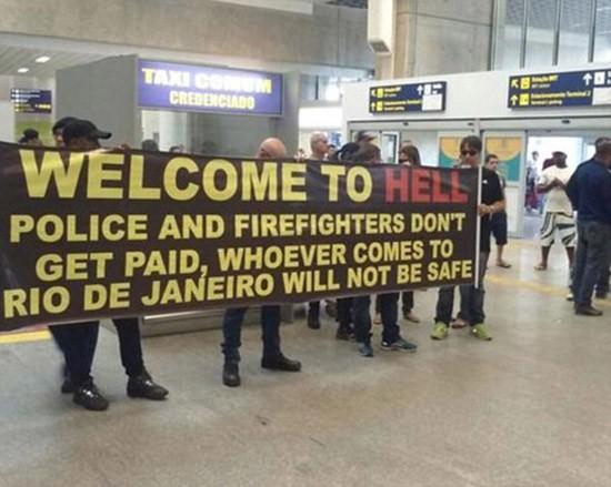 Cảnh sát Rio De Janeiro: 'Chào mừng du khách đến với địa ngục' - ảnh 1