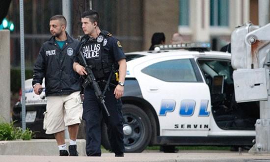 Sở cảnh sát Dallas đóng cửa vì bị đe dọa - ảnh 1