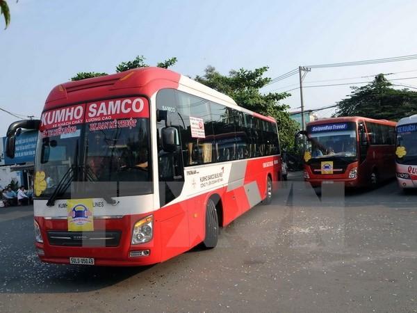 Sẽ xử lý nghiêm tình trạng bảo kê kinh doanh vận tải hành khách - ảnh 1