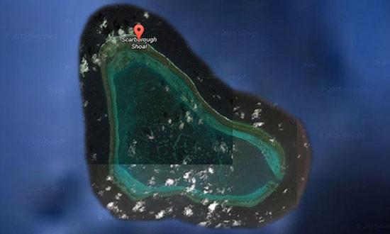 Google Maps xóa tên Trung Quốc ở bãi cạn tranh chấp với Philippin - ảnh 1