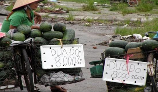 'Luật ngầm' của dân buôn hoa quả vỉa hè - ảnh 1