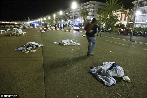 Xe tải lao vào đám đông mừng quốc khánh ở Pháp, 80 người chết - ảnh 3