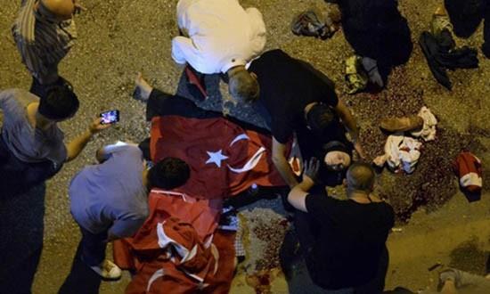 120 người phe đảo chính Thổ Nhĩ Kỳ bị bắt - ảnh 1