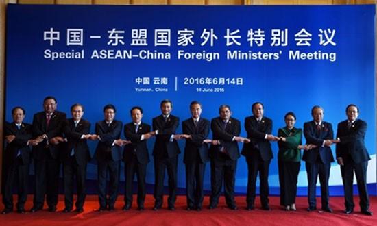 Căng thẳng Biển Đông phủ bóng lên hội nghị ASEAN tại Lào - ảnh 1