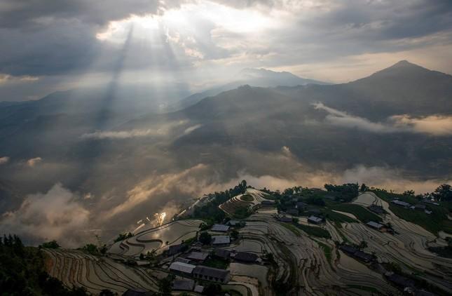 Tuyệt tác ruộng bậc thang Hoàng Su Phì mùa nước đổ - ảnh 4