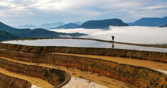 Tuyệt tác ruộng bậc thang Hoàng Su Phì mùa nước đổ - ảnh 6