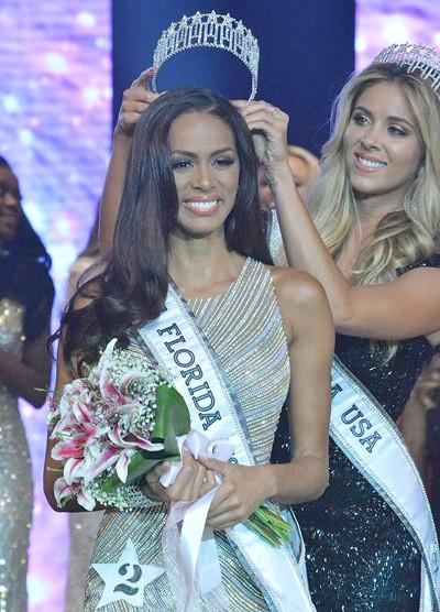 Hoa hậu Florida bị truất ngôi sau một tuần đăng quang - ảnh 1