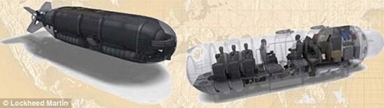 'Tàu ngầm tên lửa' chuyên chở người nhái của Mỹ - ảnh 2