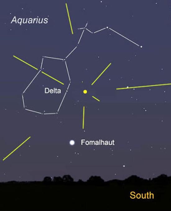 Mưa sao băng xuất hiện vào cuối tháng 7 - ảnh 1