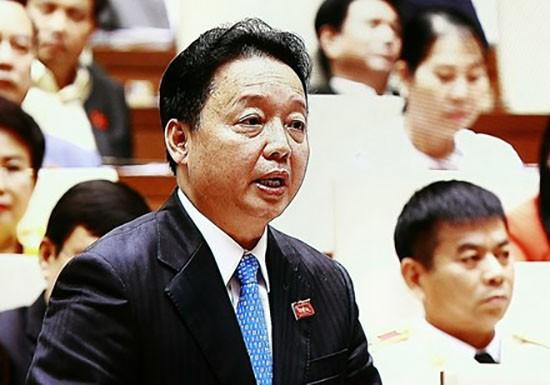 Bộ trưởng Trần Hồng Hà phát biểu trước Quốc hội về Formosa - ảnh 1