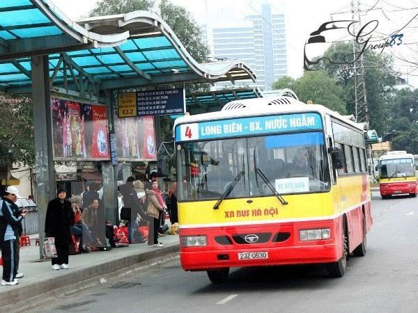 Đề xuất kéo dài lộ trình xe buýt xuống bến xe Nước Ngầm - ảnh 1