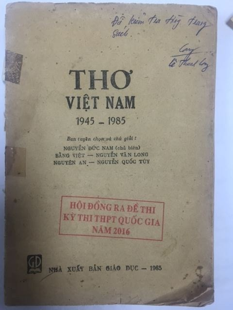 Thực hư ý kiến trích sai thơ Lưu Quang Vũ và nghi vấn lộ đề Văn - ảnh 2