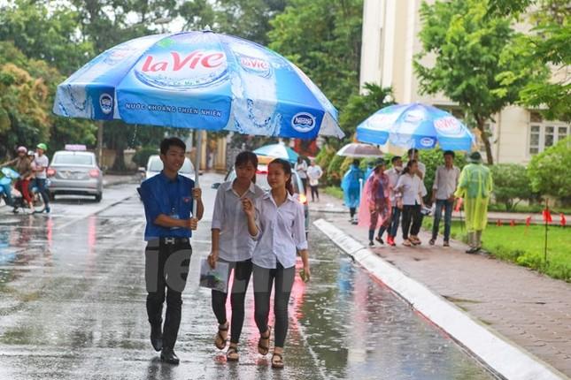 Ấn tượng hình ảnh sinh viên tình nguyện Thủ đô những ngày thi cử - ảnh 11