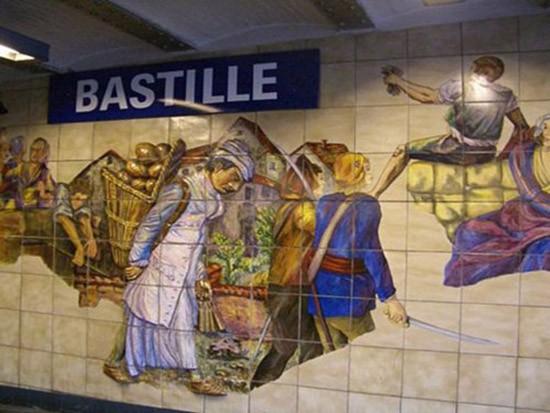 Đi xem nghệ thuật dưới ga tàu điện ngầm - ảnh 3