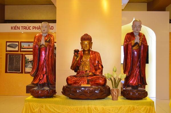 Chiêm bái tượng Phật ngọc Hòa bình Thế giới tại chùa Yên Phú - ảnh 6