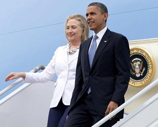Obama - Clinton, từ kình địch thành đồng minh - ảnh 1