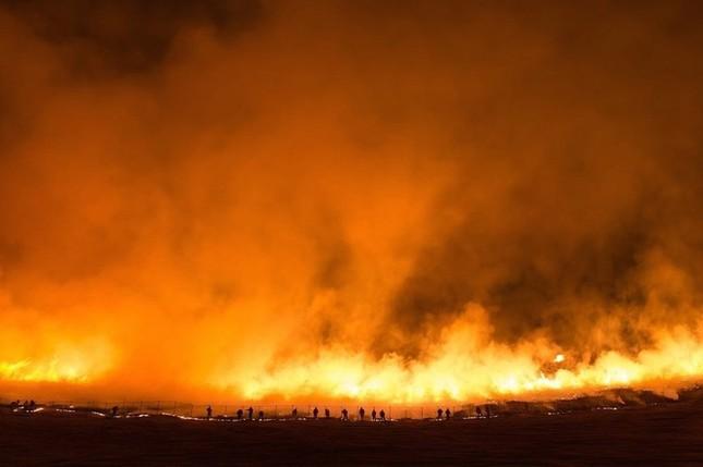 Lễ hội đốt nguyên một ngọn núi ở Nhật Bản - ảnh 7
