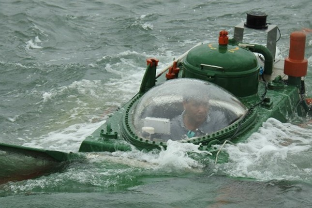Khả quan bước đầu, 'tàu ngầm' Hoàng Sa sẽ được thử nghiệm lặn - ảnh 1