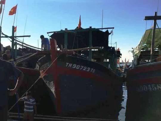 Ngư dân Thanh Hóa vớt được nhiều mảnh vỡ nghi của Casa 212 - ảnh 3