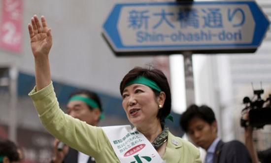 Tokyo lần đầu tiên có nữ thị trưởng - ảnh 1