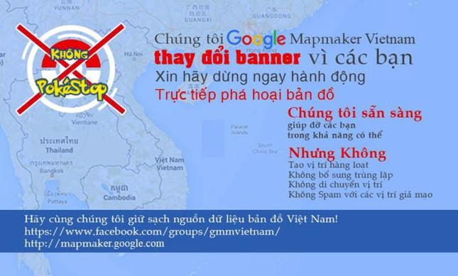 Người chơi Pokemon Go phá dữ liệu bản đồ Việt Nam trên Google - ảnh 1