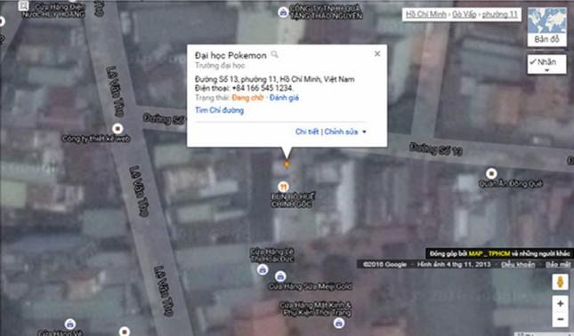 Người chơi Pokemon Go phá dữ liệu bản đồ Việt Nam trên Google - ảnh 2
