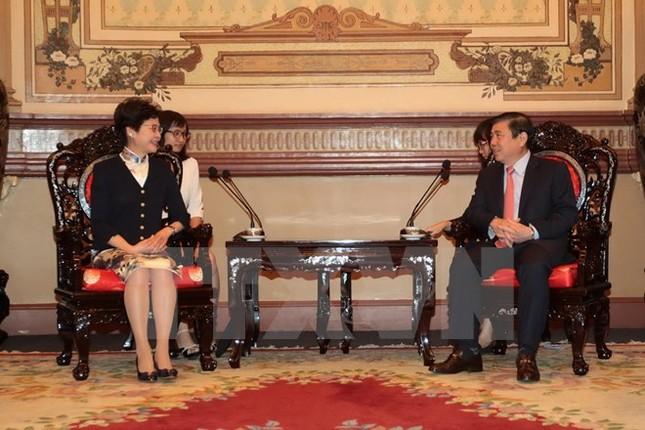 Hong Kong mong muốn hợp tác đầu tư tại Thành phố Hồ Chí Minh - ảnh 1
