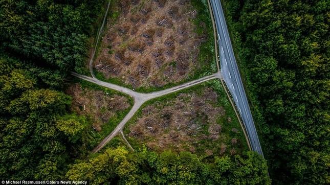 Thiên nhiên Đan Mạch nhìn theo chiều thẳng đứng - ảnh 4
