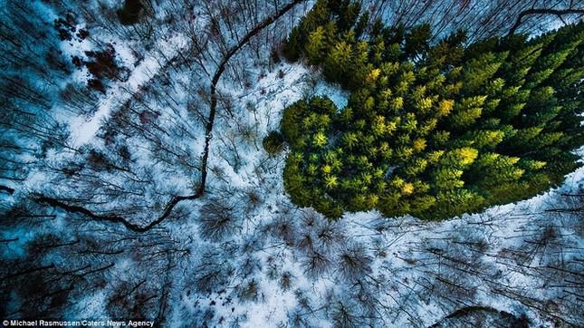 Thiên nhiên Đan Mạch nhìn theo chiều thẳng đứng - ảnh 9