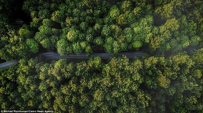 Thiên nhiên Đan Mạch nhìn theo chiều thẳng đứng - ảnh 10