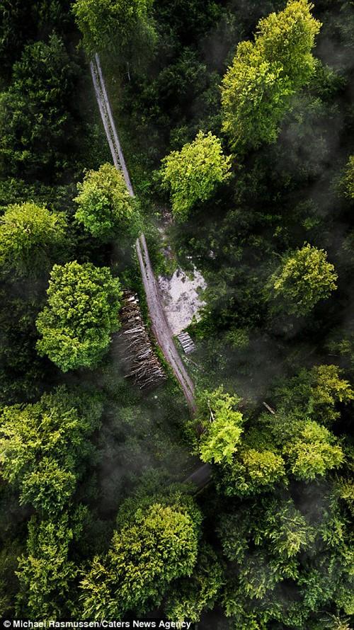 Thiên nhiên Đan Mạch nhìn theo chiều thẳng đứng - ảnh 8