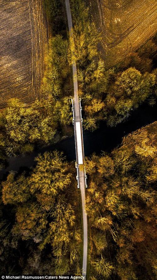 Thiên nhiên Đan Mạch nhìn theo chiều thẳng đứng - ảnh 7