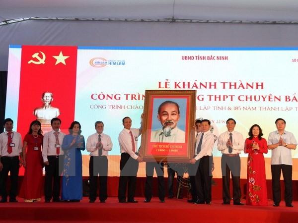 Bắc Ninh: Khánh thành ngôi trường hiện đại bậc nhất Việt Nam - ảnh 1