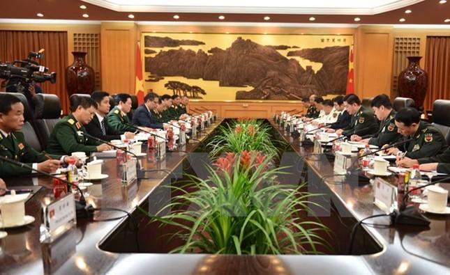 Đoàn đại biểu quân sự cấp cao Việt Nam thăm chính thức Trung Quốc - ảnh 2