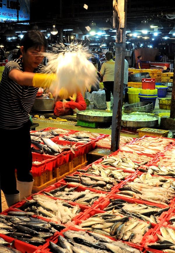 Chợ cá tươi rói ở Sài Gòn chỉ bán vào ban đêm - ảnh 6