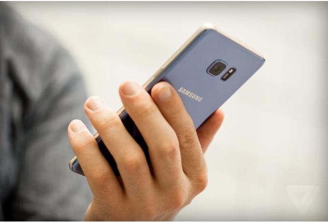 Samsung thu hồi Galaxy Note 7 toàn cầu do nguy cơ cháy nổ - ảnh 1