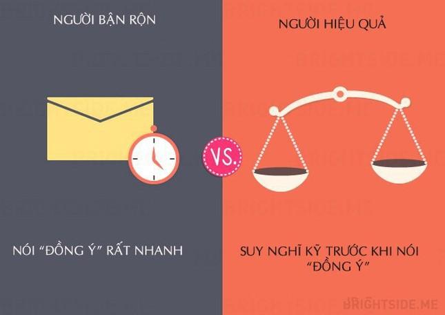 13 khác biệt giữa người bận rộn và người hiệu quả - ảnh 3