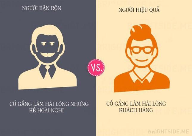 13 khác biệt giữa người bận rộn và người hiệu quả - ảnh 9