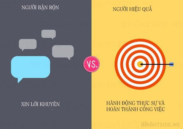 13 khác biệt giữa người bận rộn và người hiệu quả - ảnh 11