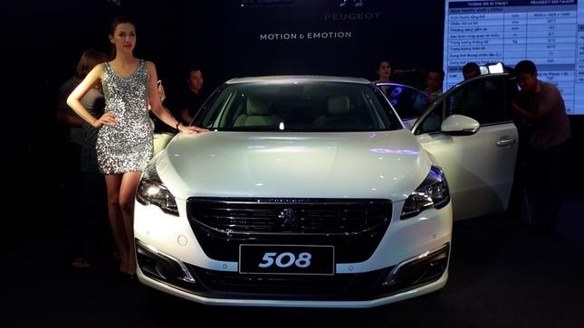 Thaco chính thức tung ra thị trường xe Peugeot 508 phiên bản mới - anh 1