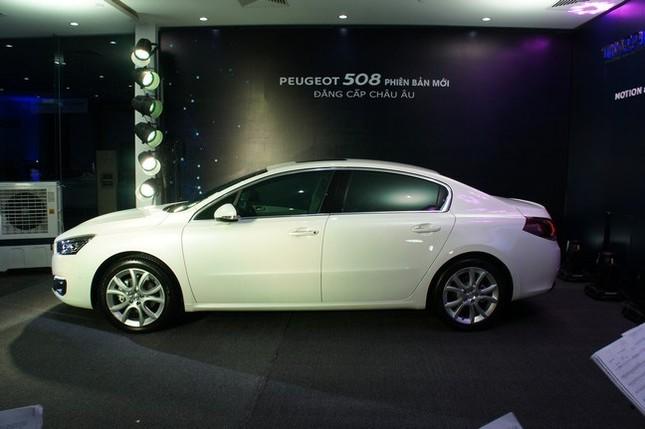 Thaco chính thức tung ra thị trường xe Peugeot 508 phiên bản mới - anh 2
