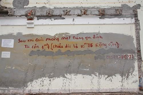Hà Nội: Bức tường 1,7 m2 giá 1 tỷ đồng - anh 1