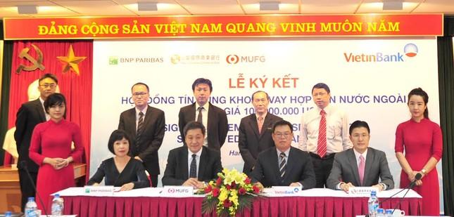 Vietinbank ký kết hợp đồng trị giá 100 triệu USD - anh 1