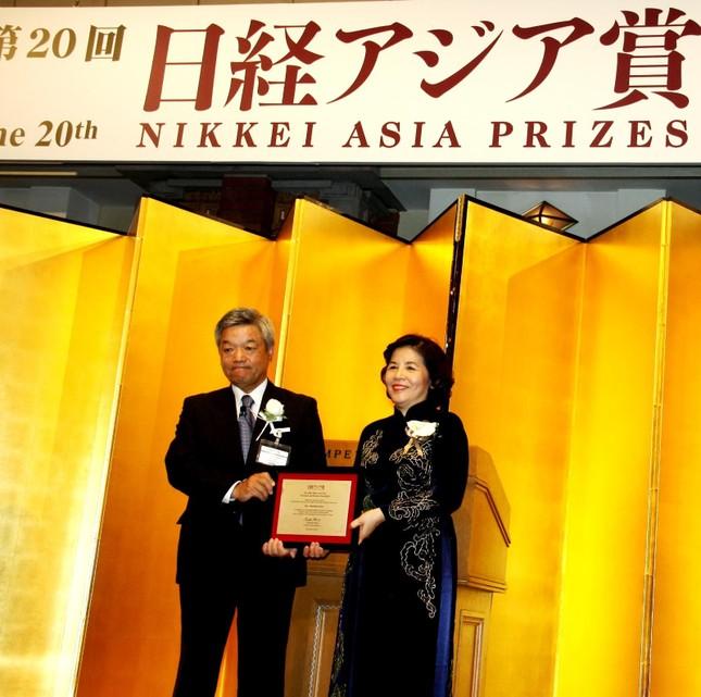 CEO Vinamilk, người Việt Nam duy nhất giành giải thưởng NIKKEI Châu Á - anh 1